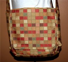 Mini Messenger Bag with Lots of Pockets by DarkeBlazeDesigns, $35.00