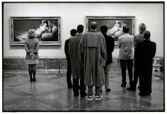 Elliott Erwitt, Madrid, Prado Museum, 1995
