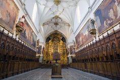 Los técnicos han concluido ya la restauración de las siete pinturas que Francisco de Goya pintó en la iglesia de la Cartuja del Aula Dei...