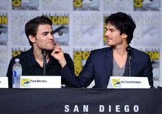 Paul and Ian at Comic Con 23-7-16