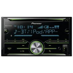 PIONEER FH-X731BT Double-DIN In-Dash CD Receiver with MIXTRAX(R) & Bluetooth(R)