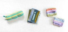 パーセント〈ミニ〉のこもの3種 | 編み物キット販売・編み方ワークショップ|イトコバコ