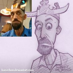 American artist Robert DeJesus has a special talent for drawing anime. He likes to use his talent to taking photos of total strangers and turning them into anime characters. Robert says he wishes he could get to everyone's requests for pictures, but he would burn himself out if he tried.  More inf