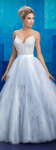 Wedding Dress by Allure Bridals 2017 | redefining the fairytale wedding gown | @allurebridals