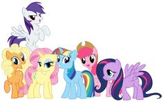 Mane 6 Swapped Colors by Shadowhedgiefan91 on DeviantArt