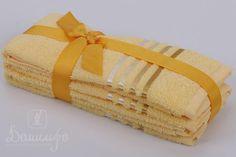 Набор полотенец BALE желтый 30х50 (3шт) от Karna (Турция) - купить по низкой цене в интернет магазине Домильфо