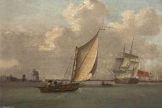 """Saltash Passage, Plymouth"",  by Nicholas Condy (1793-1857, United Kingdom)"