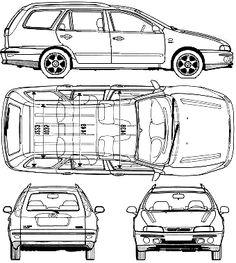 1996 Fiat Marea Weekend modelo Wagon