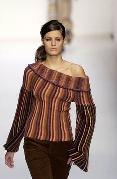 missoni Bell Sleeves, Bell Sleeve Top, Missoni, Off Shoulder Blouse, Fabrics, Colours, Patterns, Amazing, Long Sleeve