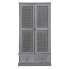 Lucy Cane Grey Gents Wardrobe Best Picture For rattan baskets decor For Your Taste You are looking for something, and it is going to tell you exactly what you are looking for, and you didn't find that White Wardrobe, Wardrobe Doors, Tall Cabinet Storage, Locker Storage, Cane Furniture, Rattan Basket, Wicker, Hanging Rail, Basket Decoration