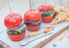 Mini Salt & Tomato Burgers