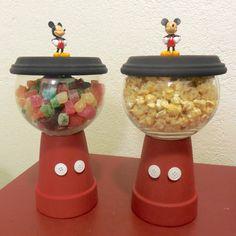 Check out how to make your very own Mickey Mouse Candy Jar on husbandandhusband.net #MickeyMouse #disney #husbandandhusband #jonathanlferrara #aaronferrara #candyjar #doityourself #crafts #MickeyMouseCandyJar