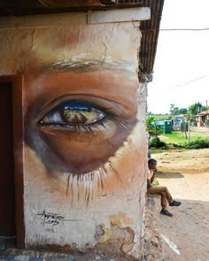 """Adnate ~ """"Painting in the infamous Soweto, a historic suburb in the city of…"""