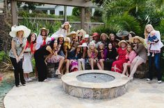Tea Party Bridal Shower - Everyone Wears a Hat (AC)