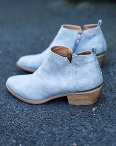 Lanna Bootie - Grey - FINAL SALE