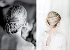 Stylowe fryzury ślubne.