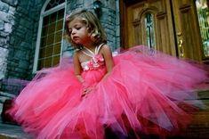Flower Girl Tutu Dresses! :  wedding bridesmaids diy dress flower girls flowers inspiration ivory pink silver tutu white 282812051569566569 SD4BRTCE F