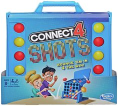 Buy Connect 4 Shots Game from Hasbro Gaming at Argos. Thousands of products for same day delivery or fast store collection. Lego Board Game, Puzzle Board Games, Jumanji Board Game, Fun Games, Party Games, Games For Kids, Puzzle Storage, 4 In A Row, Ravensburger Puzzle