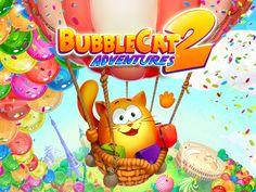 Bubble cat adventures 2 on Behance Bubble Cat, Game Ui Design, Bubbles, Behance, Adventure, Cats, Gatos, Adventure Movies, Cat