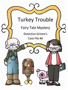 Who attempted to kidnap Tom Turkey from Old McDonald's farm?Do this for a week or a day of inferring practice and sleuthing! This is a wonderful way to get students inferring, predicting, reading for details, and drawing conclusions. Students will be doing all of this and having fun as they try to solve this whodunit fairy tale mystery.