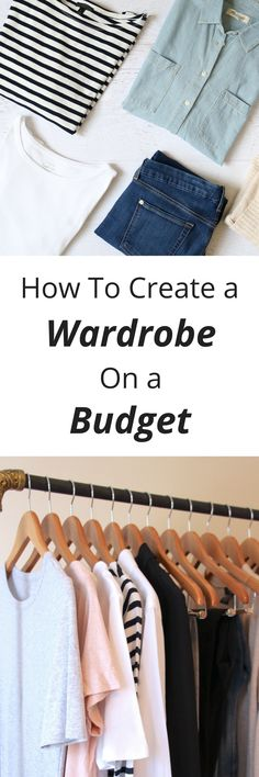 You can create a wardrobe you'll love, even if you're on a budget! Do you need clothes, shoes and accessories for your new career in the workplace?  Do you want to expand your closet and add a few skirts or a couple of trendy tops?  Are you needing a few pieces for your capsule wardrobe?  Find out how to create a wardrobe if you are limited on money.