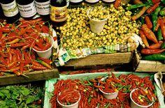 market in Recife, Pernambuco Paella, Ethnic Recipes, Food, City, The Beach, Places To Travel, Essen, Meals, Yemek