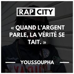#punchline #youssoupha Phrase Rap, Best Punchlines, Quotes Francais, Rap City, Crazy Mind, Rapper Quotes, Rap Lyrics, Rap Lines, French Quotes