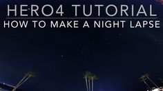 This tutorial teaches you how to use Night Lapse Mode on your GoPro HERO4 Black or Silver camera to make a night lapse video of a dark night sky. This video ...