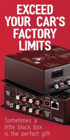 What are factory sound processors? Upgrade your sound and keep your factory stereo