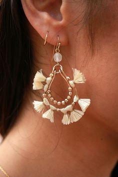 Paradise Pretty Tassel Earrings