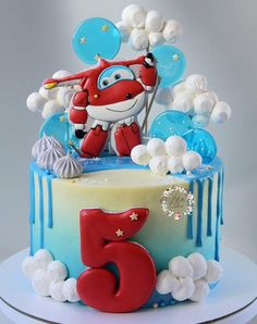 Toddler Birthday Cakes, Mickey Mouse Birthday Cake, Planes Birthday, Beautiful Cake Designs, Beautiful Cakes, Cookie Icing, Cakes For Boys, Confectionery, Cake Cookies