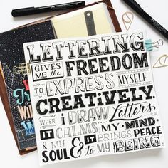 A long overdue post! This usually comes out every Friday so technically this was for last week Coming to Traveler's Exhibit on Saturday! Find more about my process my tools and favorite stuffs from my favorite art shop! Hand Lettering Quotes, Doodle Lettering, Calligraphy Quotes, Lettering Design, Lettering Ideas, Creative Lettering, Lettering Styles, Caligraphy, Hand Lettering For Beginners