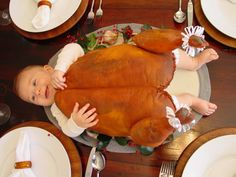 Thanksgiving....I actually have made a turkey this big, for a play.  I thought it would make a cute baby costume at the time.