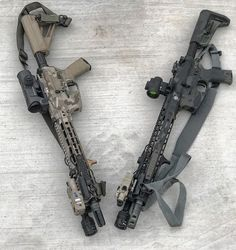 WEBSTA @ railscales - Two is one. One is more NFA than the other. #igmilitia #karve #handstop #railscales #g10 #polymer #railpanels #madeinusa #america #keymod Loading that magazine is a pain! Get your Magazine speedloader today! http://www.amazon.com/shops/raeind