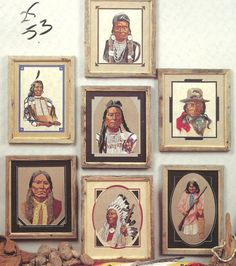 Famous American Indians Cross Stitch Pattern by BeachinBoutique