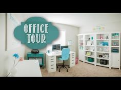 Home Office & Organization Tour: My Favorite Organized Space {Collab} - YouTube