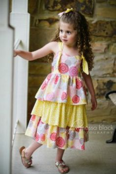 Eden Dress For Girls 12M-8Y PDF Pattern & Instructions | Sewing Pattern |  YouCanMakeThis.com