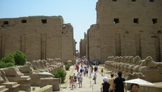 Karnak Temple in Luxor is one of Egypt's largest surviving temple precincts, you will enjoy visiting the Karnak Temple, http://www.travel2egypt.org/tours/cairo-alexandria-abu-simble-aswan-luxor/essential-egypt-8422_85/