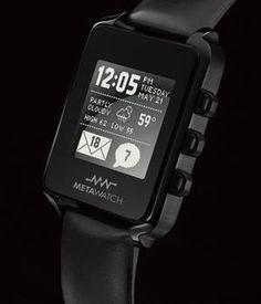 Meta Watch™ Acessórios De Nerds, Dispositivos E Aparelhos, Dispositivo  Vestível, Exibir Tecnologias 72c1c44ff1