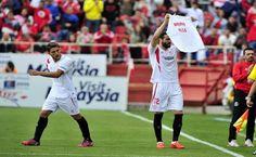 El Sevilla le dedica la victoria a Nico Pareja