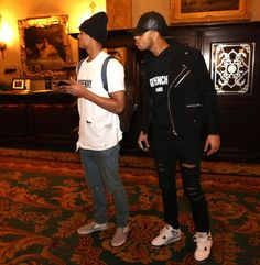 4ea1ba237f96 Jordan Clarkson   D Angelo Russell Both Wear Givenchy After Lakers Game