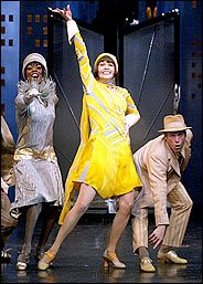 Sutton Foster as Millie in Thoroughly Modern Millie.  A real star turn.  Look what she's gone on to do.