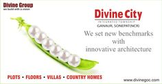 It is quite tough for other engineers to match the standards of #Divine #Group because this company works with innovative technologies to serve property buyers in a skillful manner.   #divinecity #villas #countryhomes #floors #plots