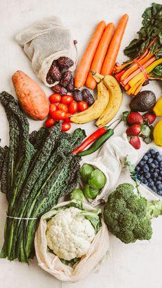 Easy Healthy Recipes, Raw Food Recipes, Veggie Recipes, Healthy Snacks, Healthy Eating, Fruit And Veg, Fruits And Veggies, Food Concept, Mindful Eating
