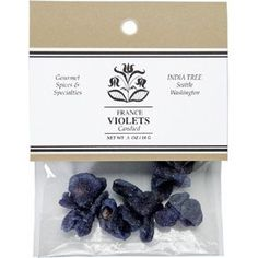 EDIBLE FLOWERS make unique & beautiful cocktail garnishes! Candied Violets: