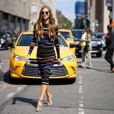 streets-couture:   Chiara Ferragni at NYFW SS16 -... Fashion Tumblr | Street Wear, & Outfits