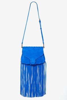 Nasty Gal x Nila Anthony Lizzy Suede Crossbody | Shop Accessories at Nasty Gal