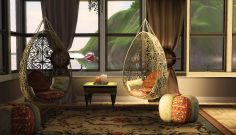 Cosy Bohemian Living Room / The Sims 3 Screenshots