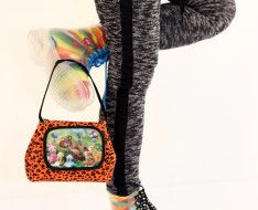 STERNENTAU #handmade #bags  #lovely bag Fur Bag, Handmade Bags, Austria, Handmade Purses, Homemade Bags