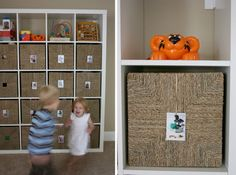 Tame the toy chaos - ideas for storage